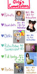 My Commissions page by GirlyRainbowVampire