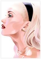 Gwen Stefani by hurikan