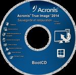 Cover CD Recovery Acronis True Image 2014 Premium