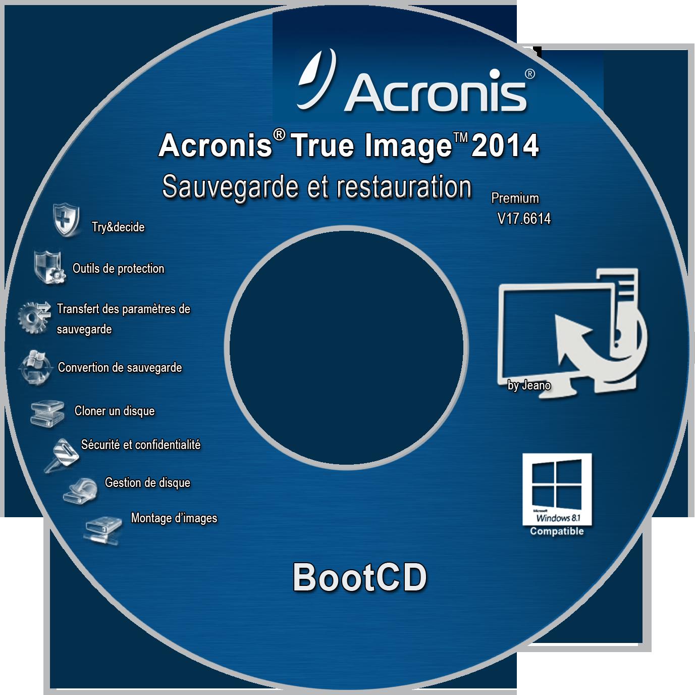 Cover CD Recovery Acronis True Image 2014 Premium by zeanoel on DeviantArt