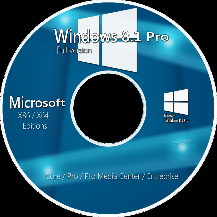Windows 8 1 pro windows 10 x86x64 bit - Cover Dvd Windows 8 1 Pro By Zeanoel
