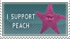 Peach Stamp by DarkFacedStranger