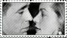 Lauren and Bogie Stamp by DarkFacedStranger