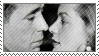 Lauren and Bogie Stamp by DarkFacedStranger