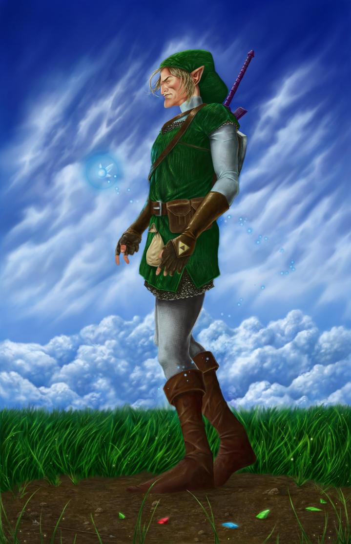 Link Hyrule by JPRKDesigns