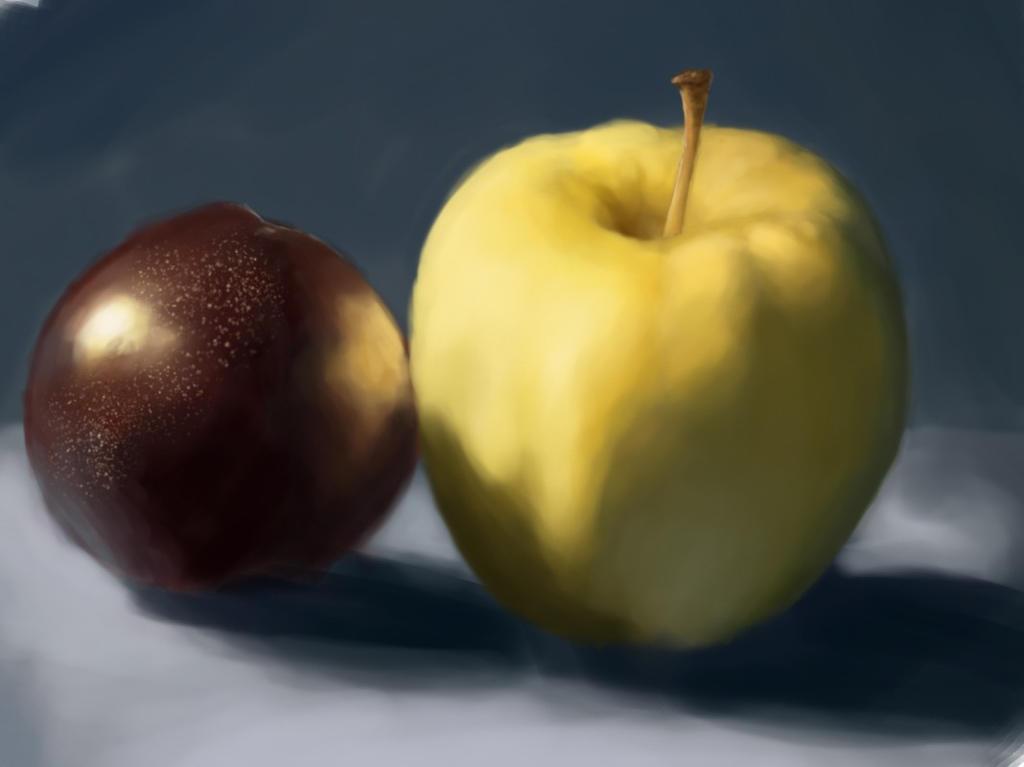 Apple Plum Study by JPRKDesigns
