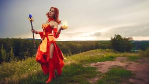 dota2 lina cosplay by Nasya-nassya