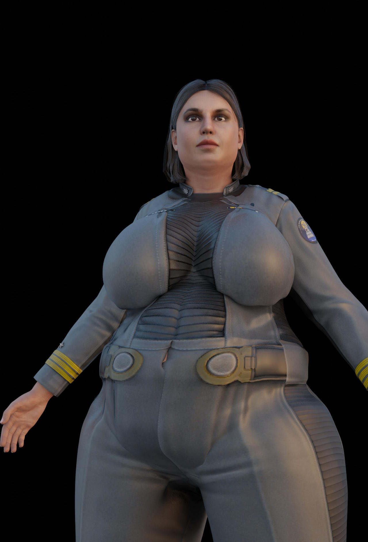 Halo 2 Anniversary Miranda Keyes by FleetAdmiral01 on
