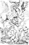 Lara Croft by mengoloid