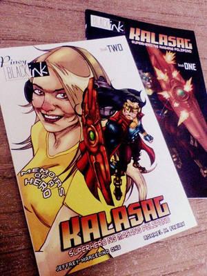 Black Ink Comics presents...KALASAG by mengoloid