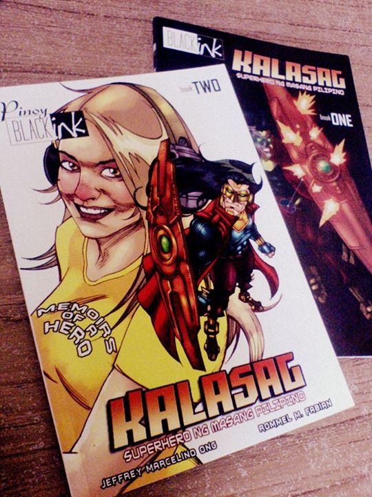 Black Ink Comics presents...KALASAG by mengoloid