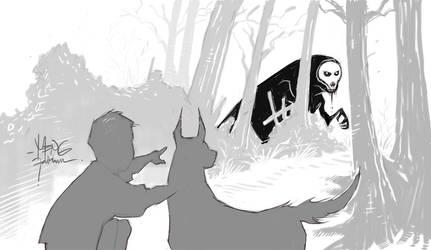 Little Hide and Mr. Seek by mengoloid