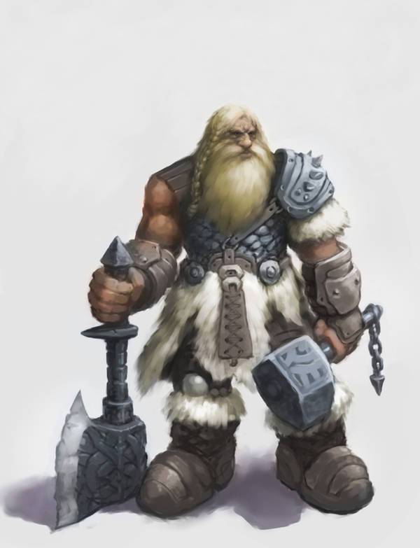 dwarf by blackdigger