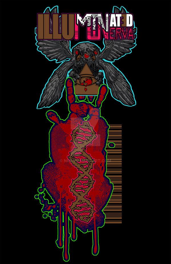 Illuminated Minerva Logo by n8b