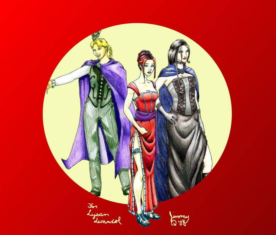 Shades of Scarlet: Trio