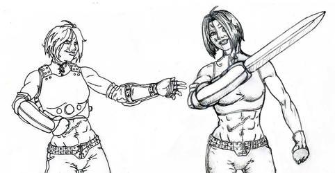 Mercenary Lady V2
