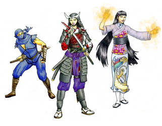 Ninja Samurai Wu-Jen