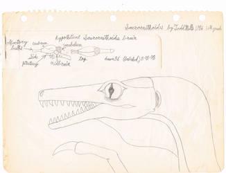 A.K.A. Troodon and Brain by Artwalker-67