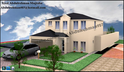 3d house by abdulrehmanmujtaba