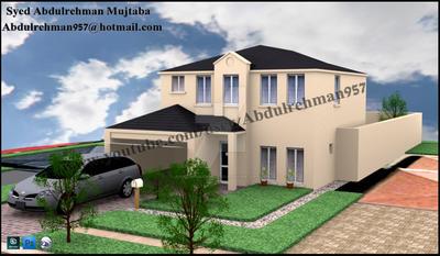 3d house by abdulrehmanmujtaba