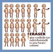 eraser base by lazykas