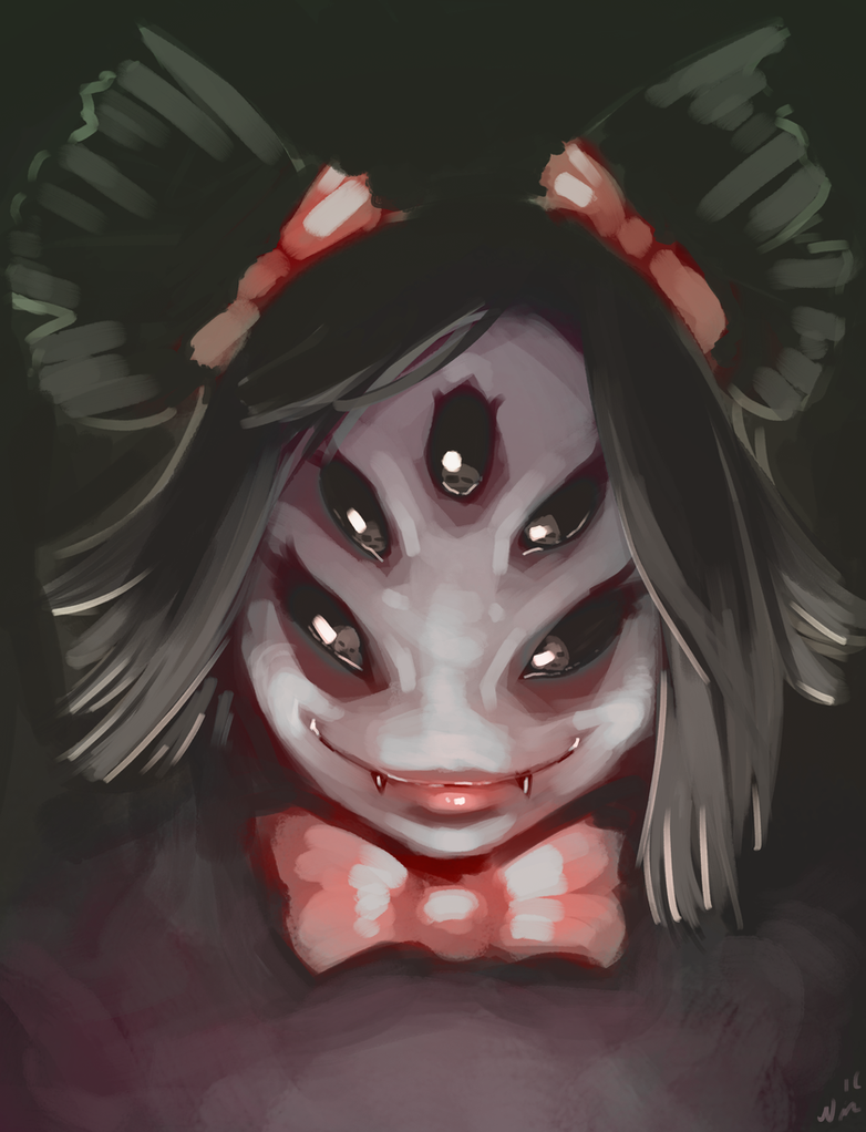 Muffet is a Terrifying Spider Monster. by NightsJester