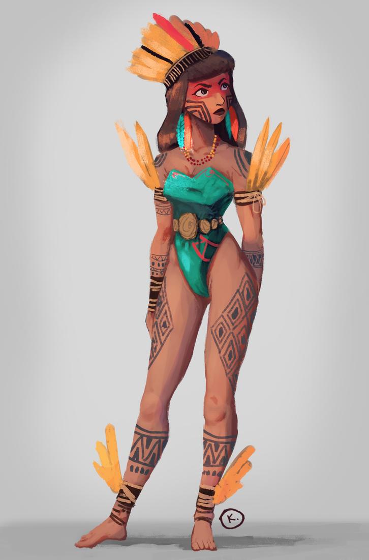 Xingu Warrior by Keomacalandrini