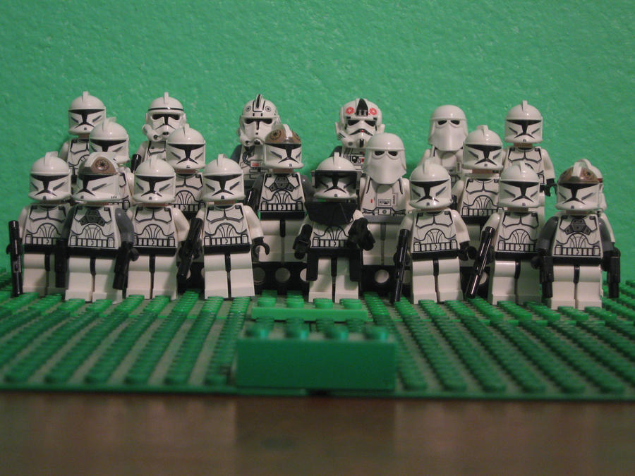 Lego Clone Army of 04, 18, 10 by SonicClone