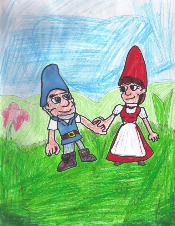 Gnomeo and Juliet by SonicClone on deviantART