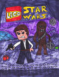 LEGO Han Solo and Chewbacca