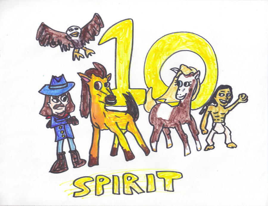 10-Anniversary of Spirit Stallion of the Cimarron by SonicClone