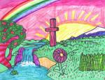 Christian Rainbow Artwork