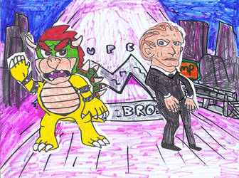 Bowser and Koopa by SonicClone