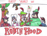 Robin Hood 40th