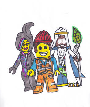 The LEGO Movie Trio