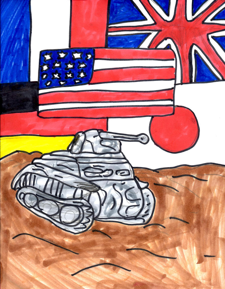 Panzer II Luchs  Tank by SonicClone