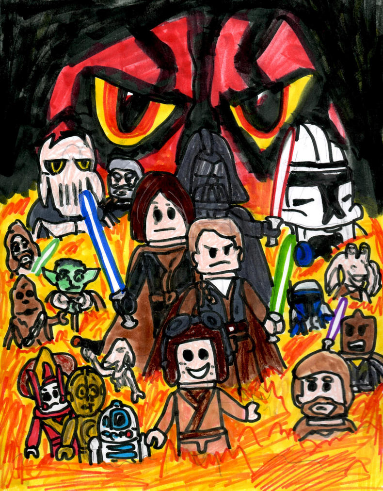 Lego Star Wars: The Video Game by SonicClone