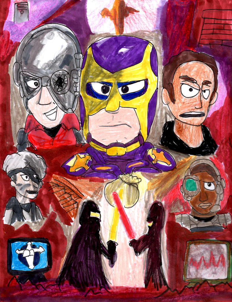 Bibleman: Conquering the Wrath of Rage by SonicClone