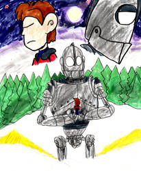A Boy and his Robot by SonicClone