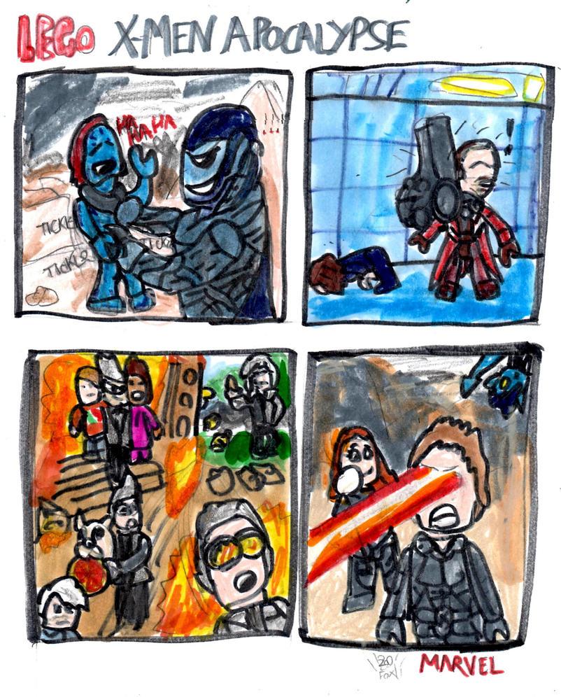 Lego X-men Apocalypse Comic by SonicClone