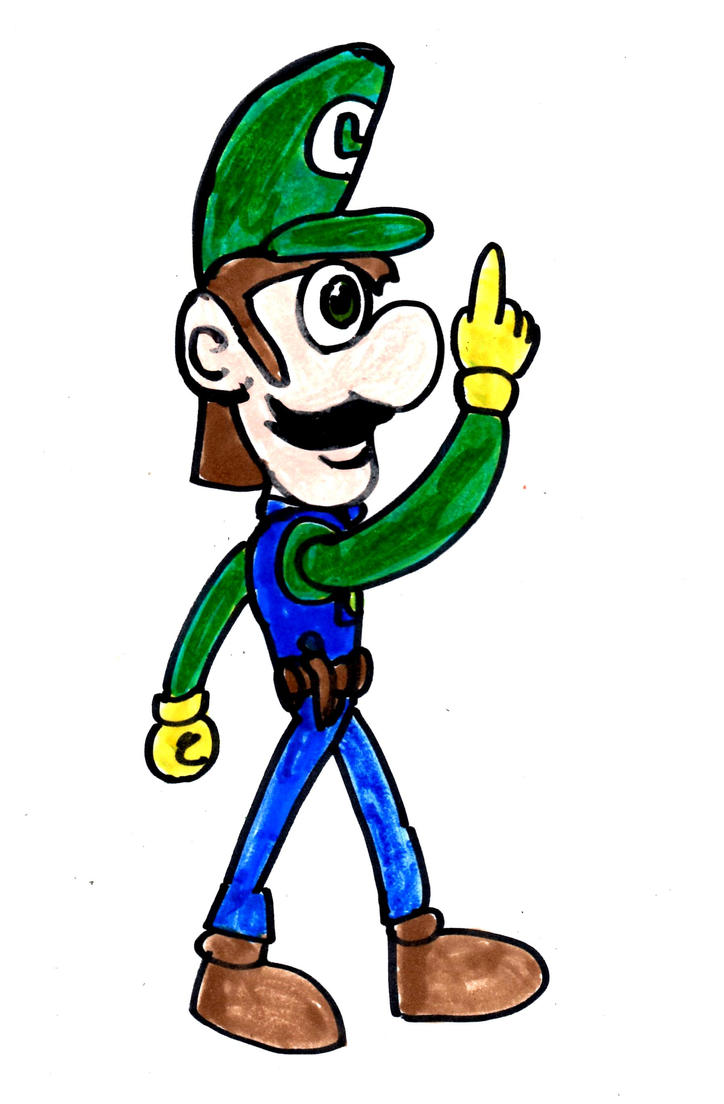 It's A Mnother Luigi by SonicClone