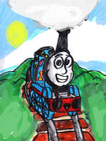 Thomas the Happy Tank Engine by SonicClone