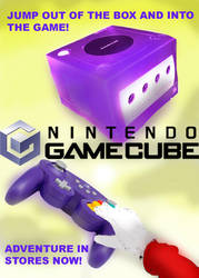 Gamecube Advertizment by SonicClone