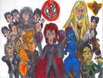 The Brotherhood of Mutants: X-Men by SonicClone