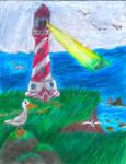 Lighthouse Scene