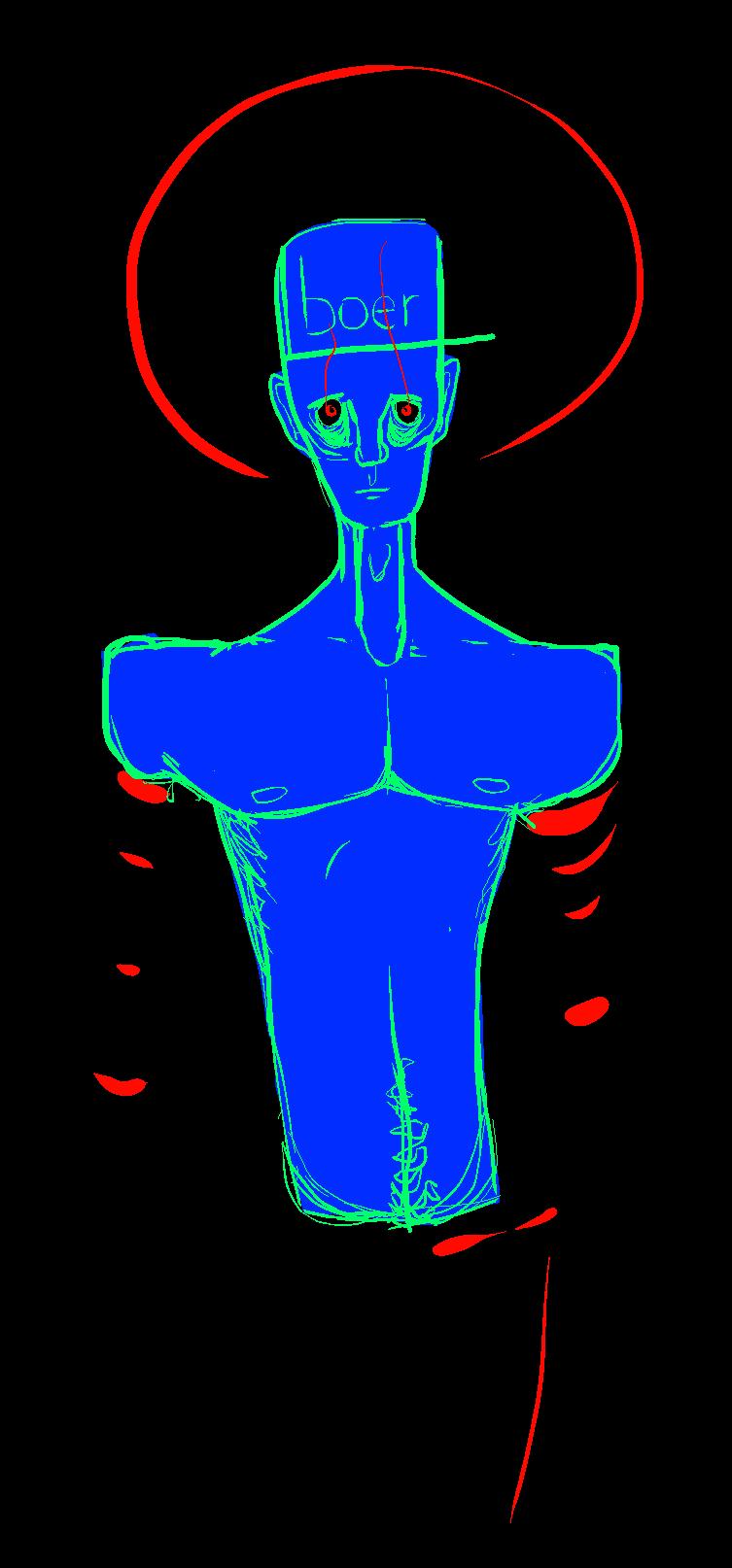 Human Body Parts by VEZONISME