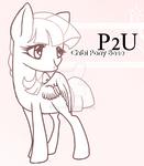 P2U Chibi Pony Adoptables Base : Updated