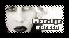 Marilyn Manson Stamp by Xnvy