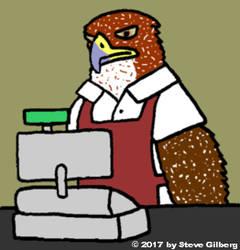 Retail Hawk by DeckardCanine