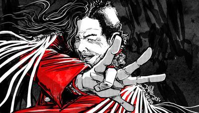 Shinsuke Nakamura by DougHills on DeviantArt